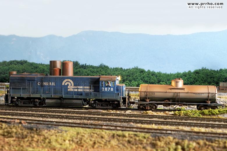 Conrail Eighties Modular System Ho Scale Prrho Com Model