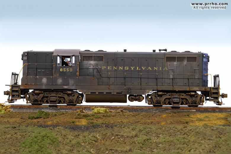 Emd Gp7 Es15m Class Prrho Com Model Trains